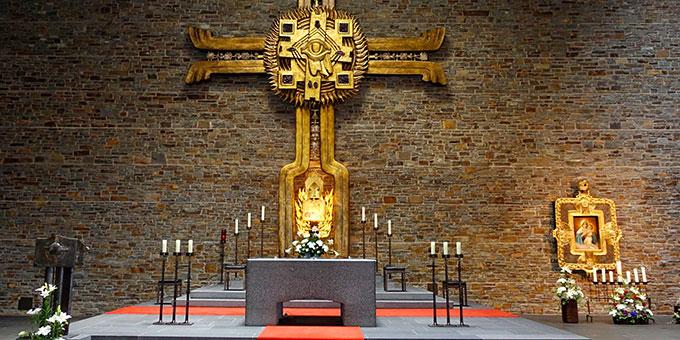 Anbetungskirche Berg Schönstatt (Foto: Pilgerzentrale)