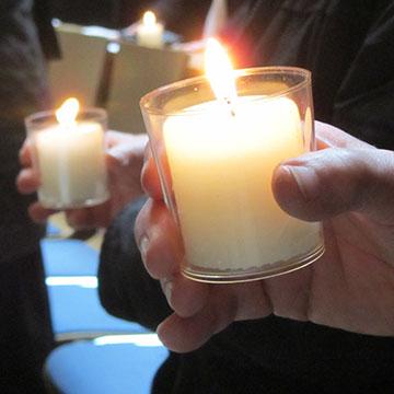 Licht sein für die Welt (Foto: Pilgerzentrale)