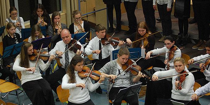 Internationales Begegnungskonzert in der Schönstätter Marienschule in Vallendar (Foto: Brehm)