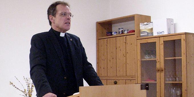 Pfarrer Jörg Simon, Referent bei den Besinnungstagen für Männer (Foto: Bradler)