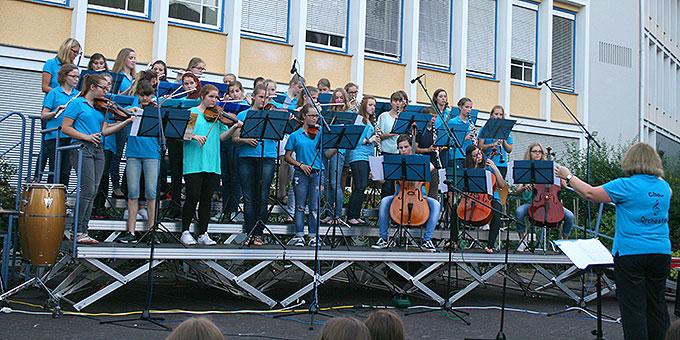 SChulorchester der Schönstätter Marienschule (Foto: Schönstätter Marienschule)