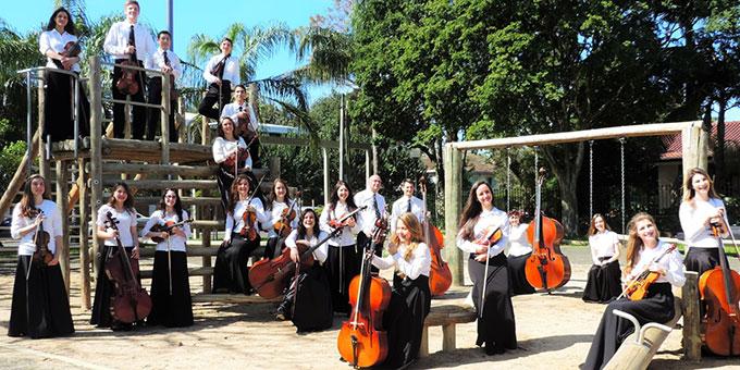 "Jugendstreichorchester ""Camarata Ivotí"" (Foto: ASCARTE)"