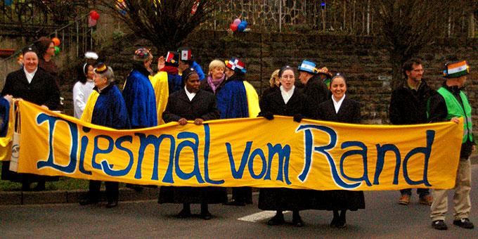 Schönstatt beim Karnevalsumzug in Vallendar (Foto: Brehm)