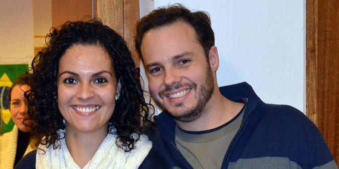 """Das neue """"Wächterehepaar"""" im Haus der Familie: Monika und Marcos Schmid (Foto: Balazs)"""