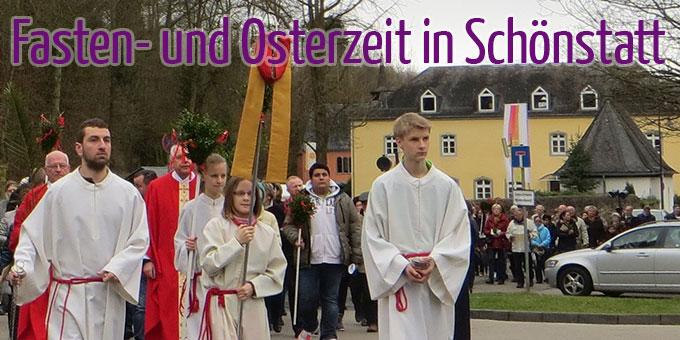 Fasten- und Osterzeit in Schönstatt (Foto: Pilgerzentrale)