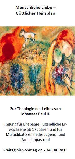 Cover des Tagungsflyers (Flyer: Schönstatt Familienbund)