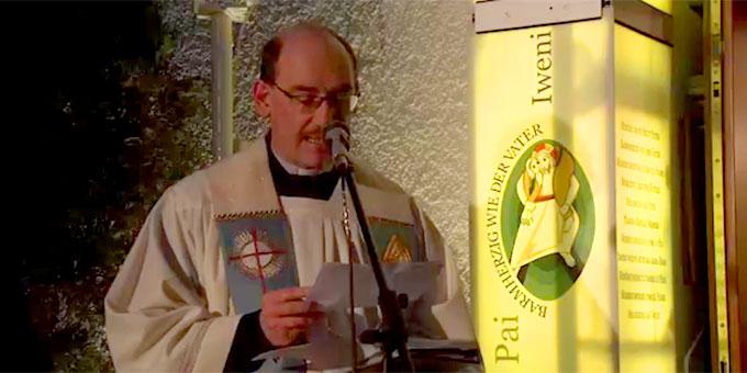 Bündniserneuerung an der Pforte der Barmherzigkeit in Schönstatt (Foto: Schoenstatt-tv)