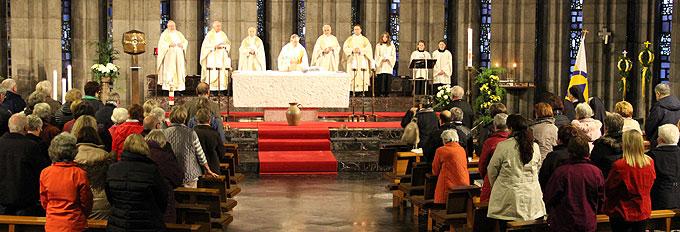 Bündnis- und Dankesmesse für Pater Georg Ritter im Schönstatt-Zentrum Liebfrauenhöhe (Foto: Klink)