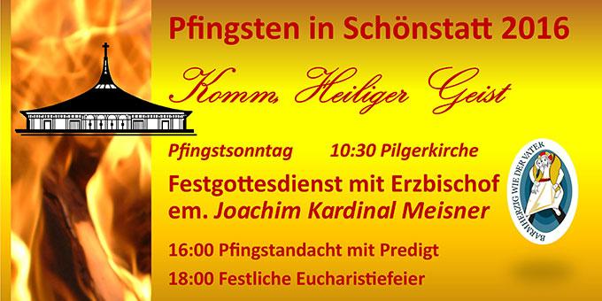 Pfingsten (Foto: Schönstatt-Wallfahrt)