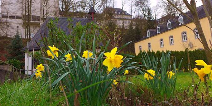 Das Urheiligtum in Schönstatt im Frühling (Foto: Lechler)