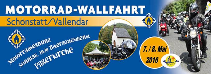 Manner Motoradwallfahrt 2016 (Foto: Schönstatt Pilgerzentrale)