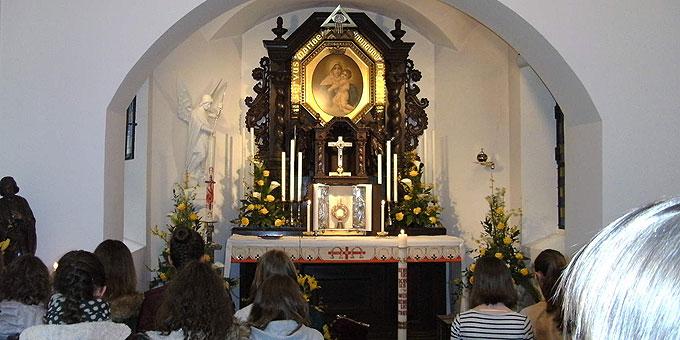 Das Heiligtum als Heimat erfahren (Foto: MJF)