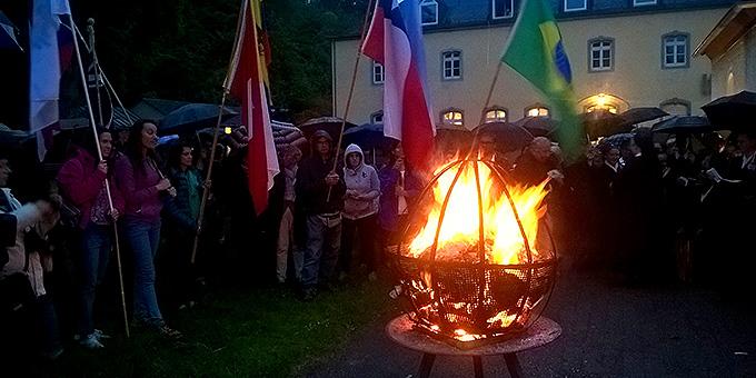 Bündnisfeier am 18. Mai beim Urheiligtum (Foto: Brehm)