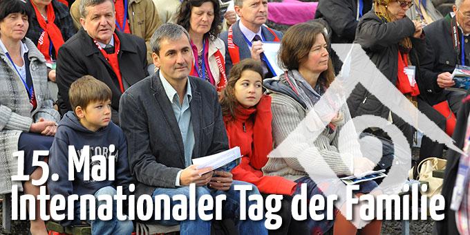 Internationaler Tag der Familie (Foto: Jubiläum 2014, Kröper)