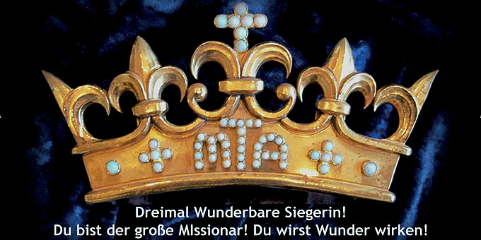 Krone für das Krönungsfest am 5. Juni (Foto: S-MS)