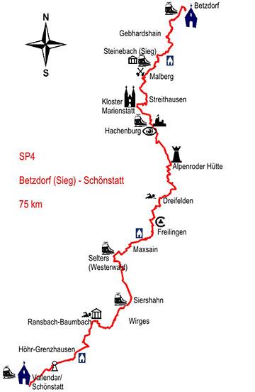 Der Schönstatt-Pilgerweg Nr. 4 beginnt in Betzdorf (Foto: Herter)