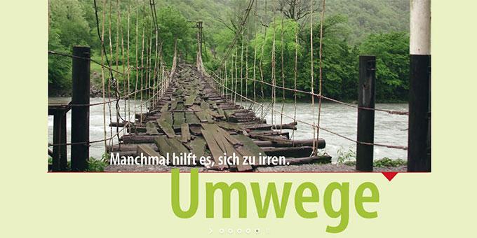 Umwege (Foto: basis-online)