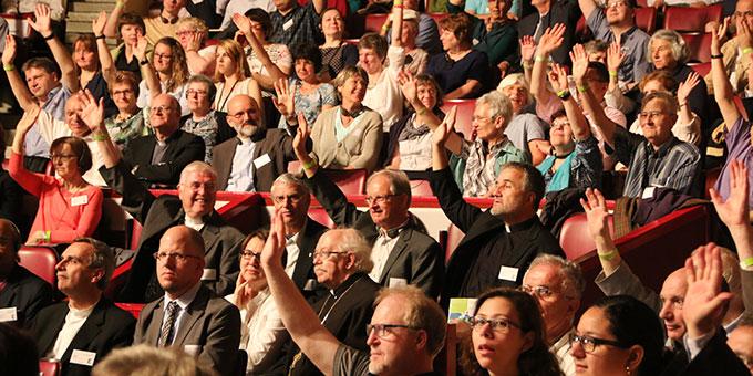 Unter den 1.700 Teilnehmern sind auch viele Schönstätter (Foto: MfE, Haaf)