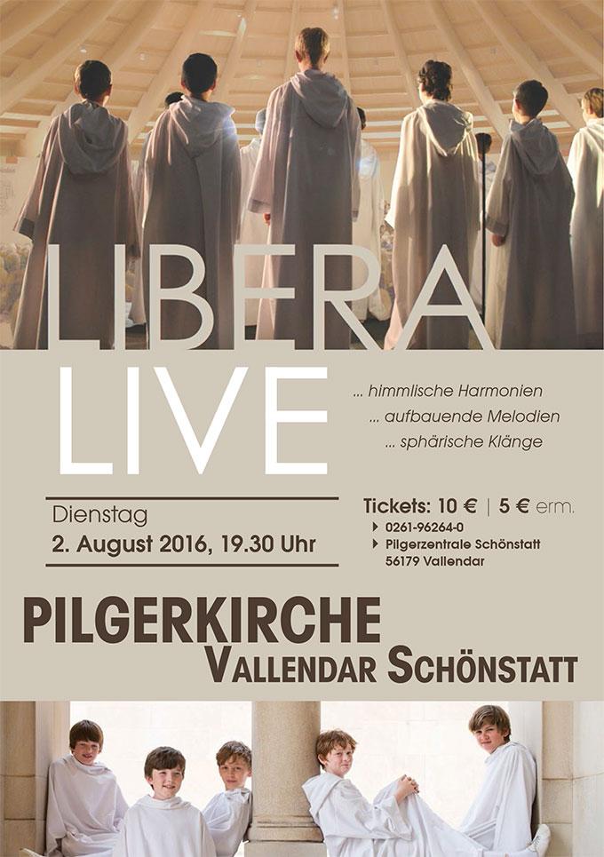 Konzertplakat (Foto: LIBERA)