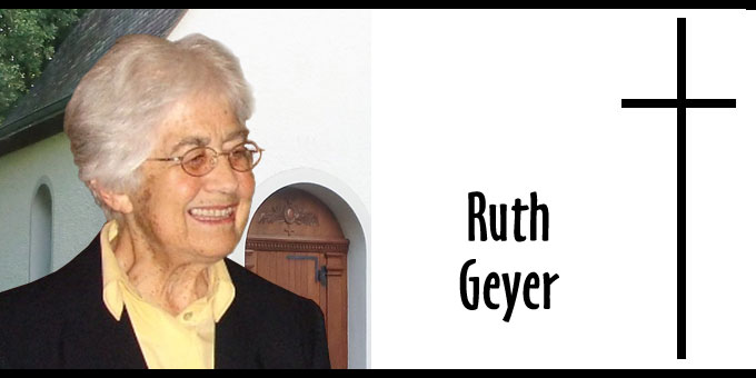 Ruth Geyer (Foto: Archiv)
