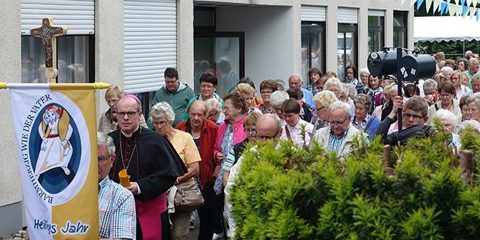 Wallfahrt aus der Diözese Osnabrück mit Weihbischof Wübbe (Foto: Pilgerzentrale)