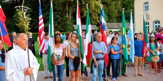 Bündniserneuerung am Urheiligtum in Schönstatt (Foto: Brehm)
