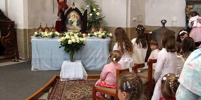 In der Pfarrei Usti nad Orlici (Foto: Projekt Pilgerheiligtum Tschechien)