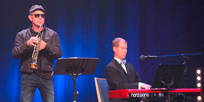 Klassik und Jazz finden zusammen: Udo Knöfel und Jürgen Böhme (Foto: Graf)