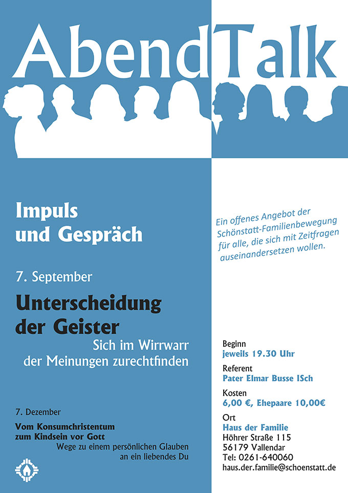 Plakat Abendtalt (Gestaltung: Brehm)