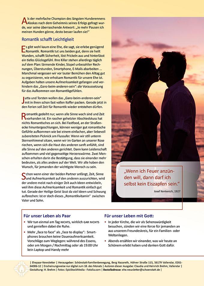"Ehepaar-Newsletter 08/2016 "" Wir zwei - Immer wieder neu"" (Foto: © EpicStockMedia - Fotolia.com)"