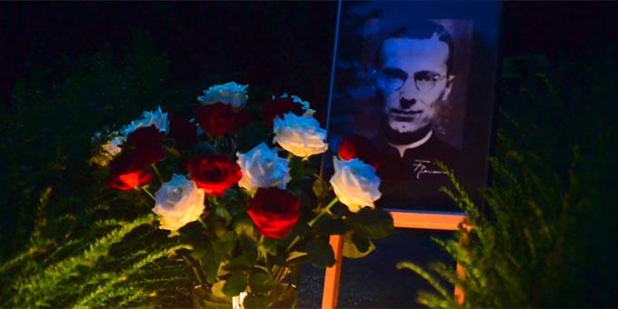Grab von Pater Franz Reinisch beim Urheiligtum in Vallendar-Schönstatt (Foto: Kessler)