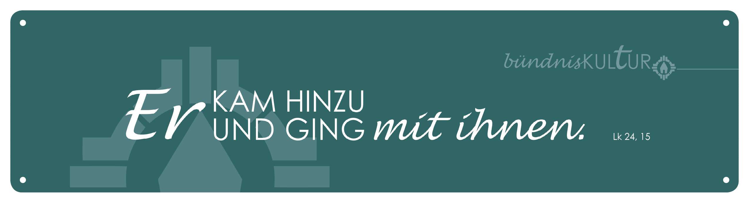 Jahresmotto-Plakat der Schönstatt-Bewegung 2017