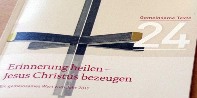 Thema aus Anlass des Gedenkjahres der Reformation (Foto: Neiser)