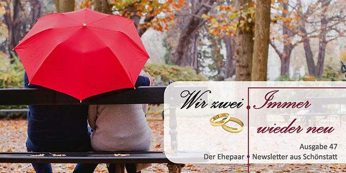 "Ehepaar-Newsletter 11/2016 ""Wir zwei - Immer wieder neu"" (Foto: © anyaberkut fotolia.com)"