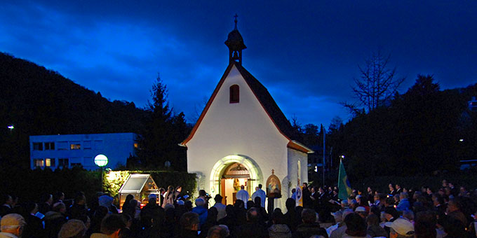 Die heilige Pforte der Barmherzigkeit des Urheiligtums in Schönstatt (Foto: Brehm)
