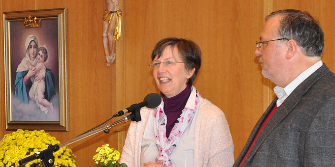 Claudia und Heinrich Brehm referieren beim Tag zu zweit auf der Liebfrauenhöhe (Foto: SAL)