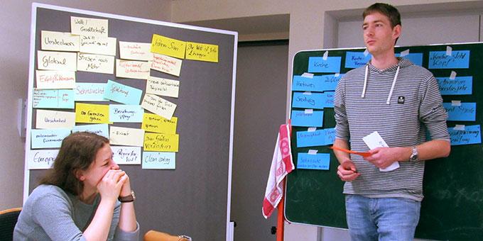 NdH Kernteamtreffen: (Welt-) bewegende Themen auf den Punkt bringen (Foto: Roth)