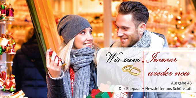 """Ehepaar-Newsletter 12/2016 """"Wir zwei - Immer wieder neu"""" (Foto: © drubig-foto fotolia.com)"""