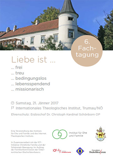 6. Trumauer Fachtagung, Cover des Flyers (Foto: IEF/ITI)