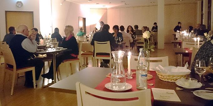 41 Paare nahmen an den zwei Candlelight-Dinner-Abenden teil  (Foto: Höhn)