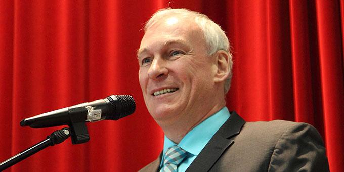 Vergandsgemeindebürgermeister Fred Pretz (Foto: SchMS)