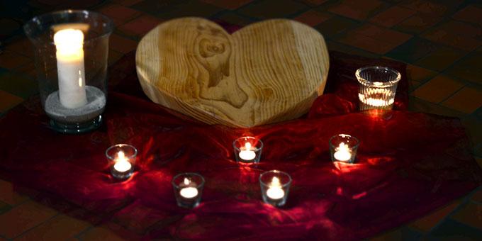 Candlelight-Abend im Haus der Familie in Vallendar-Schönstatt (Foto: Balázs)