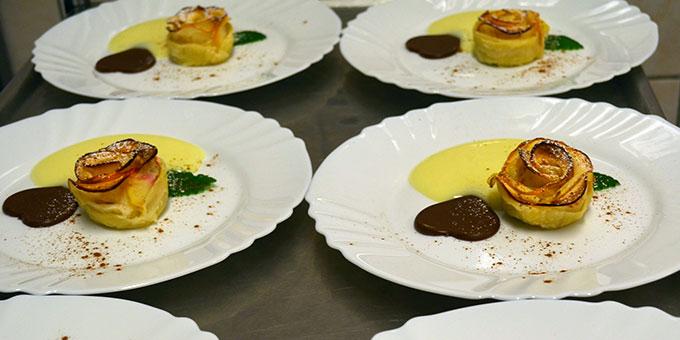 Die Küche kreierte Köstlichkeiten (Foto: Balázs)