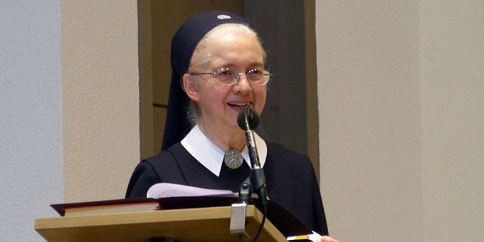 Schwester Anneclaire Gerharz (Foto: SMS)