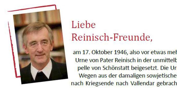 Pater Dr. Heribert Niederschlag (Foto: Reinisch-Büro)
