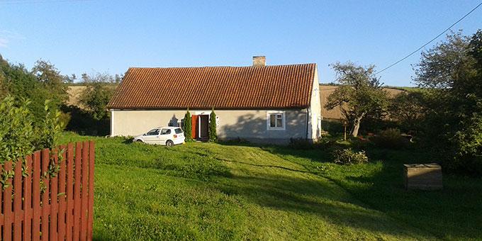 Das Elternhaus von Josef Engling in Prosity, Polen (Foto: Kostka)