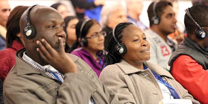 Unter den Teilnehmern Menschen aus der ganzen Welt (Foto: www.famiglienuove.org)