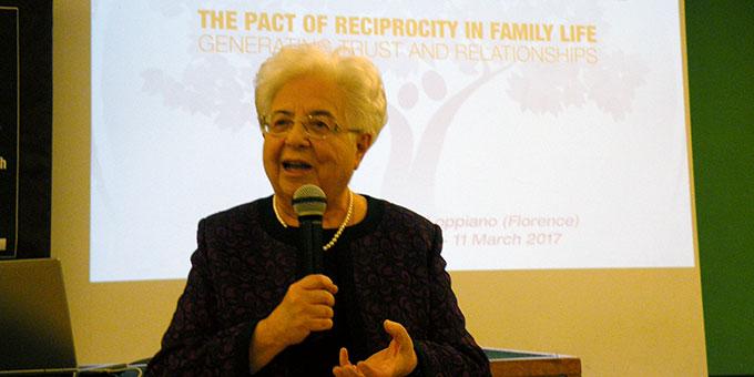 Maria Voce, Präsidentin der Fokolar-Bewegung (Foto: Wieland)