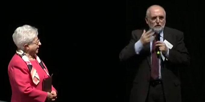 Dr. Maria Voce, Präsidentin der Fokolarbewegung, und P. Jesús Morán, Ko-Präsident (Foto: www.famiglienuove.org)