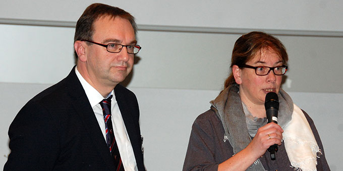 Uta und Prof. Dr. Joachim Söder (Foto: Brehm)